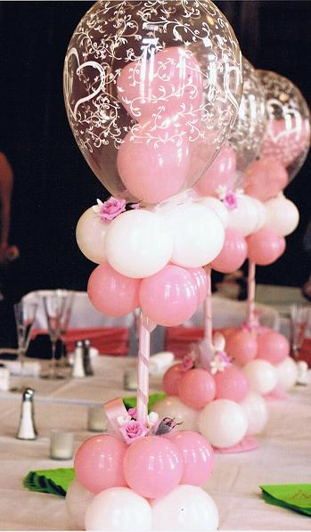 Centerpieces balloon bouquets tall floor