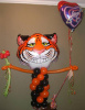 "#CH76 - 25"" Tiger Shape Balloon Bouquet or Character Delivery in the Tulsa & Surrounding Area"